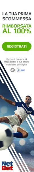NetBet Sport - 5 Euro omaggio