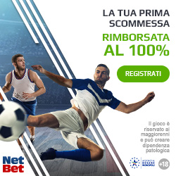Bonus scommesse Netbet.it