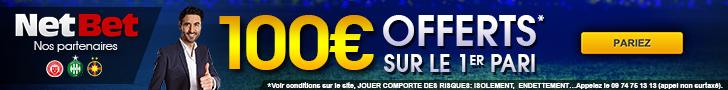 Pariez legalement en France sur Netbet.fr